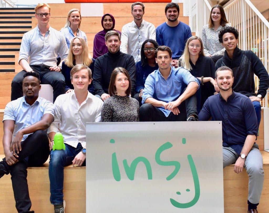 Team members of Insj